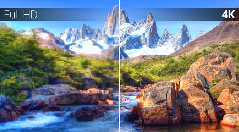 Chất lượng hình ảnh 4K trên Android Tivi TCL 4K 49 inch L49C6-UF