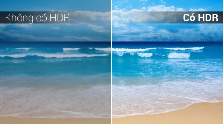 Công nghệ HDR trên Android Tivi TCL 4K 49 inch L49C6-UF