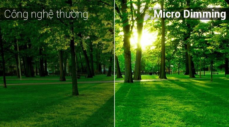 Công nghệ Micro Dimming trên Android Tivi TCL 4K 49 inch L49C6-UF