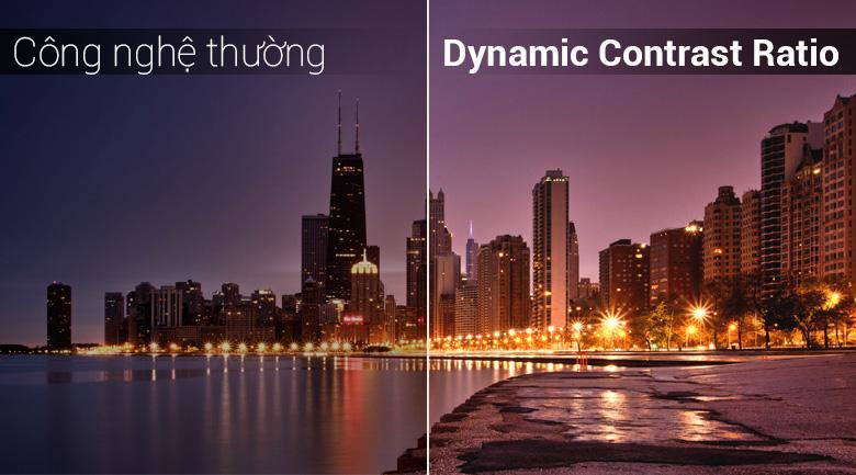 Công nghệ Dynamic Contrast Ratio trên Android Tivi TCL 4K 49 inch L49C6-UF
