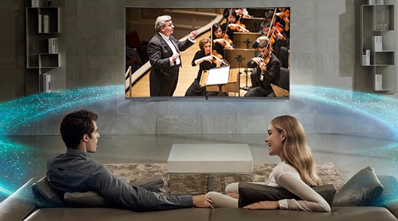 Công nghệ Dolby Digital trên Smart Tivi Cong TCL 4K 55 inch L55P5-UC