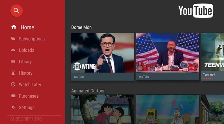 Trải nghiệm Youtube bản quyền trên Smart Tivi Cong TCL 4K 55 inch L55P5-UC