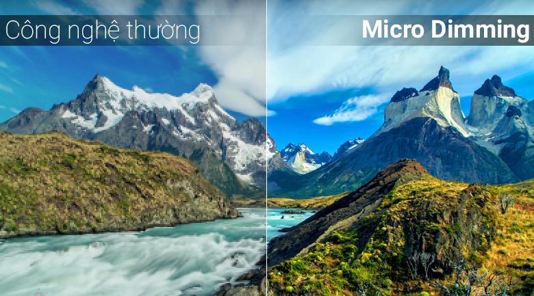 Công nghệ Micro Dimming trên Android Tivi TCL 4K 55 inch L55C6-UF
