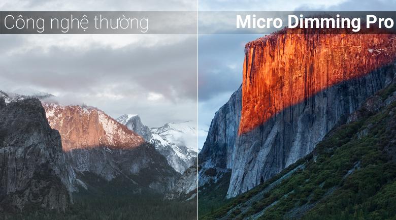 Công nghệ Micro Dimming Pro trên Android Tivi QLED TCL 65 inch L65X4