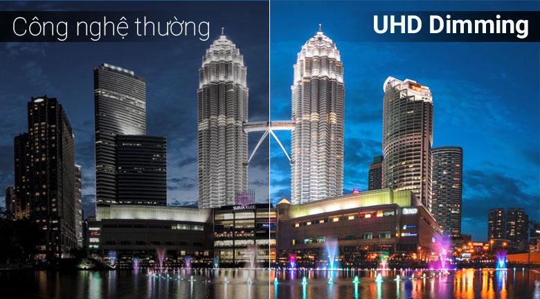 Công nghệ UHD Dimming trên Smart Tivi Samsung 4K 43 inch UA43NU7090