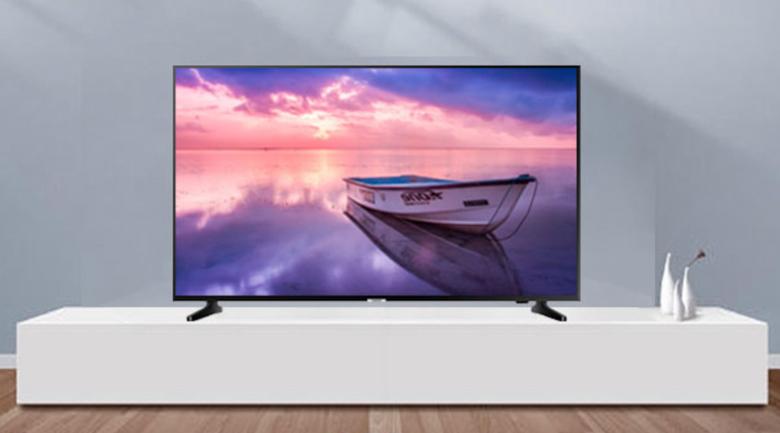 Thiết kế trên Smart Tivi Samsung 4K 43 inch UA43NU7090
