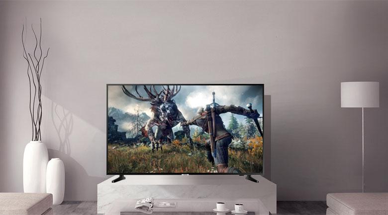 Thiết kế trên Smart Tivi Samsung 4K 50 inch UA50NU7090