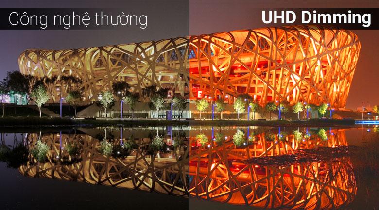 Công nghệ UHD Dimming trên Smart Tivi Samsung 4K 50 inch UA50NU7090