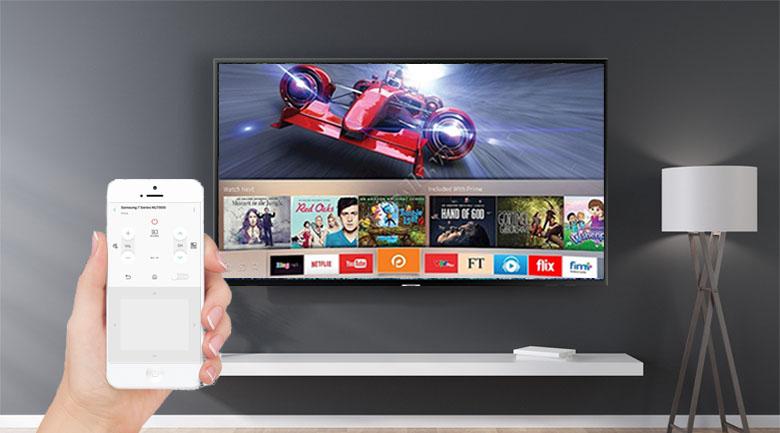 ứng dụng SmartThings trên Smart Tivi Samsung 4K 50 inch UA50NU7090