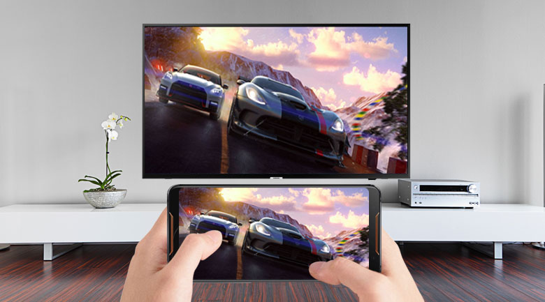 Công nghệ Screen Mirroring trên Smart Tivi Samsung 4K 50 inch UA50NU7090