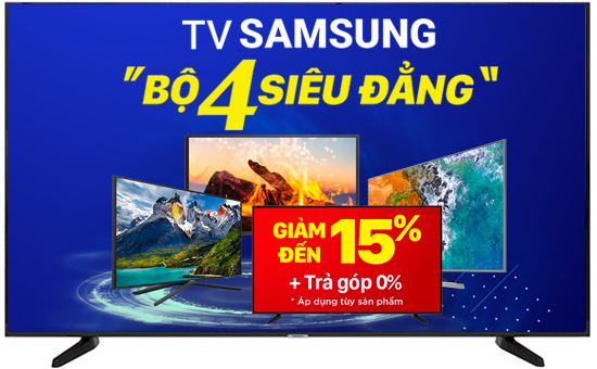 Smart TV 4K SAMSUNG