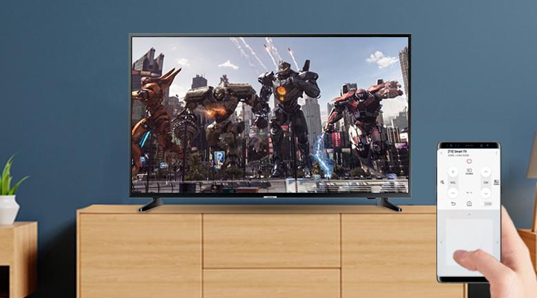 Ứng dụng SmartThings trên Smart Tivi Samsung 4K 55 inch UA55NU7090