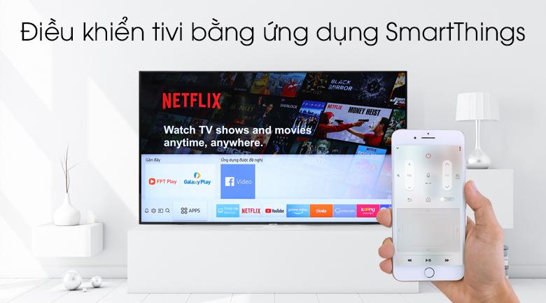 Ứng dụng SmartThings - Smart Tivi Samsung 4K 65 inch UA65NU7090