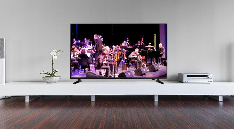 Thiết kế hiện đại, đẳng cấp trên Smart Tivi Samsung 4K 65 inch UA65NU7090