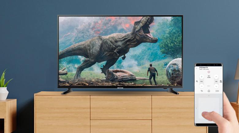 Ứng dụng SmartThings rên Smart Tivi Samsung 4K 65 inch UA65NU7090