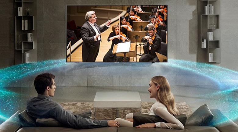 Công nghệ âm thanh Dolby Digital Plus trên Smart Tivi Samsung 4K 65 inch UA65NU7090