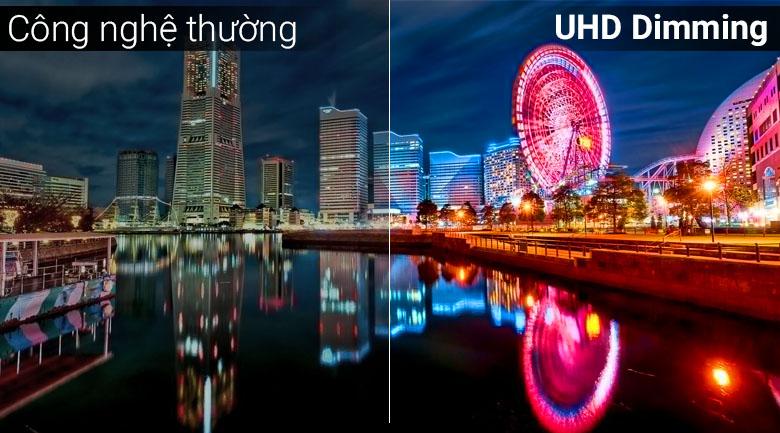 Công nghệ UHD Dimming trên Smart Tivi Samsung 4K 65 inch UA65NU7090