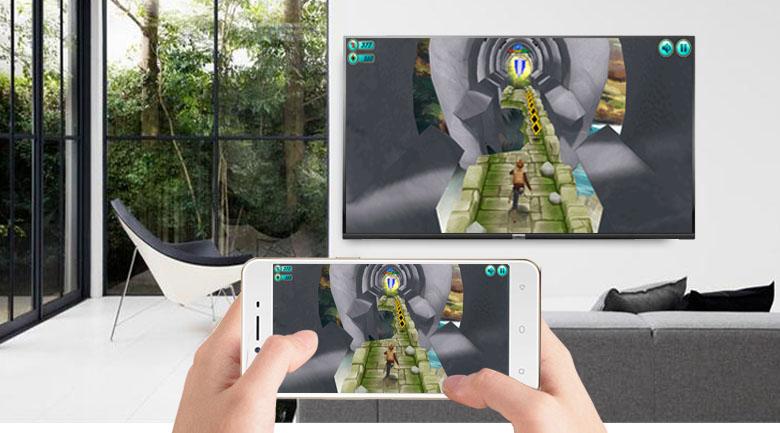 Ứng dụng Screen Mirroring trên Android Tivi TCL 49 inch 49S6500