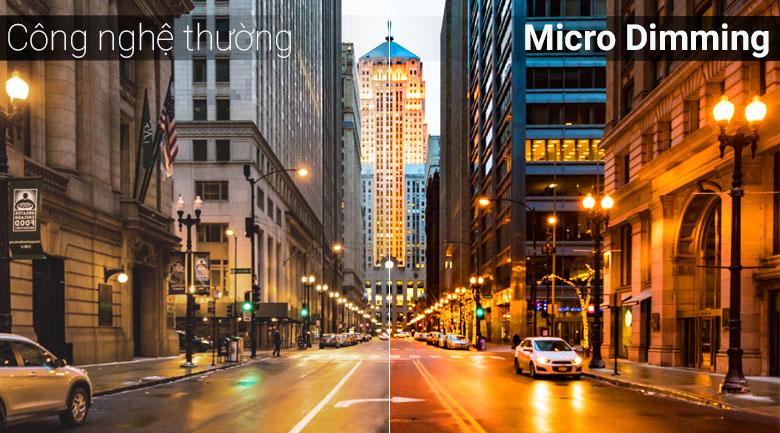 Công nghệ Micro Dimming trên Android Tivi TCL 49 inch 49S6500