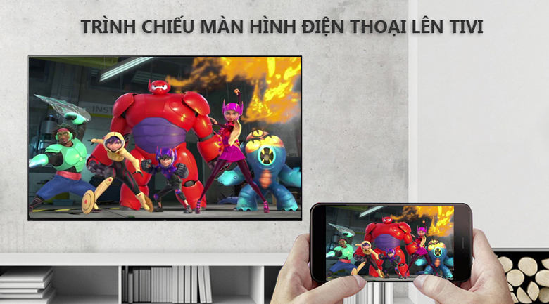 Screen Mirroring - Android Tivi OLED Sony 4K 55 inch KD-65A9F