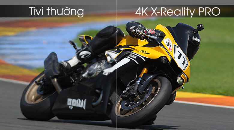 4K X-Reality PRO - Android Tivi OLED Sony 4K 55 inch KD-55A9F