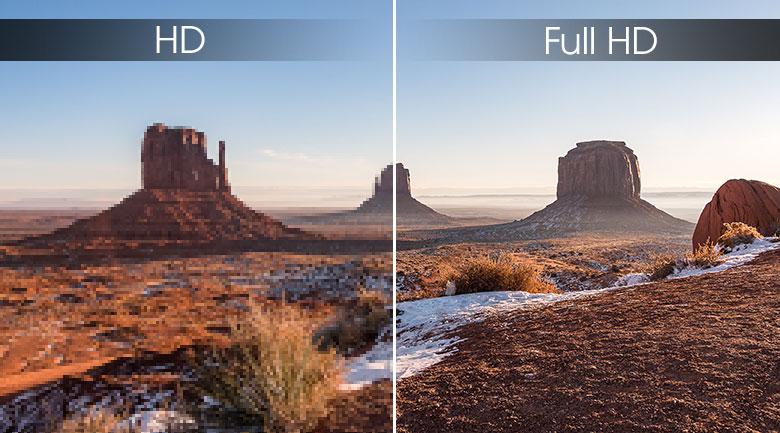 Độ phân giải Full HD sắc nét