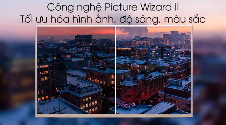Công nghệ hình ảnh Picture Wizard II tối ưu hình ảnh, màu sắc
