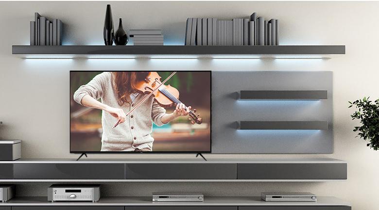 Thiết kế - Smart Tivi TCL 4K 55 inch L55P65-UF