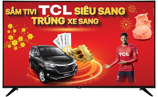 "Smart TV 4K TCL 55"""