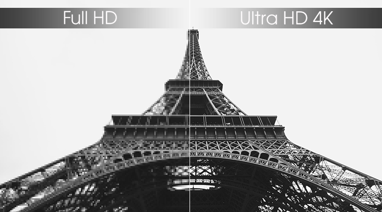 Ultra HD 4K - Smart Tivi TCL 4K 55 inch L55P65-UF