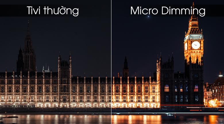 Micro Dimming - Smart Tivi TCL 4K 55 inch L55P65-UF