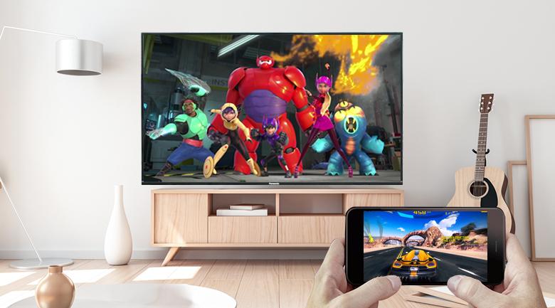 Google Cast - Android Tivi Panasonic 4K 49 inch 49FX550V