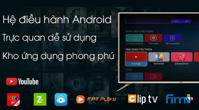 Hệ điều hành Android dễ sử dụng