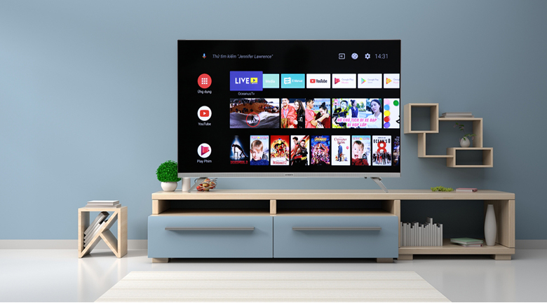 Android Tivi Skyworth 43 inch 43E6 - Thiết kế
