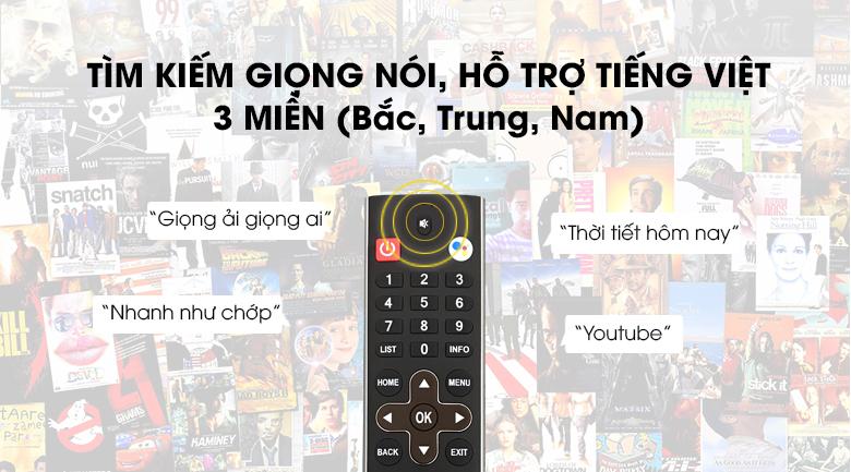 tìm kiếm giọng nói tiếng Việt