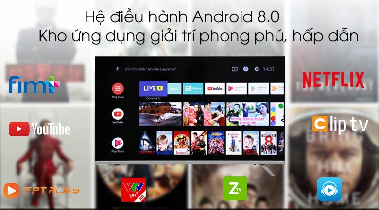 Android Tivi Skyworth 32 inch 32E6 - Android 8.0