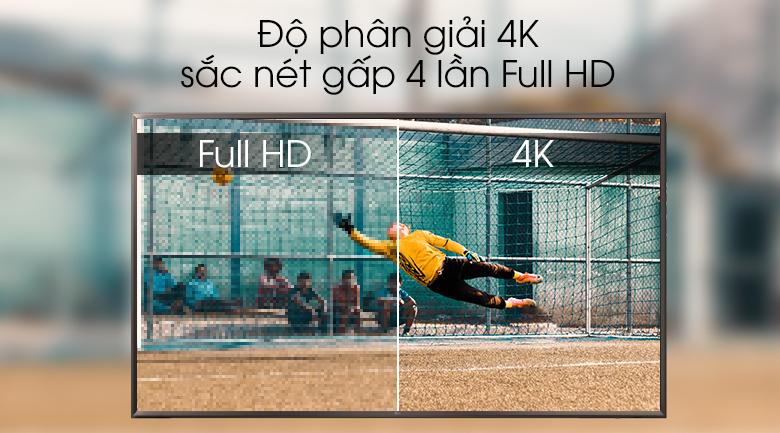 độ phân giải 4K - Smart Tivi LG 4K 55 inch 55UK6320PTE