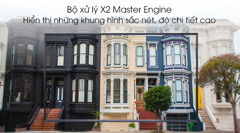 X2 Master Engine - Smart Tivi Sharp 50 inch 2T-C50AE1X