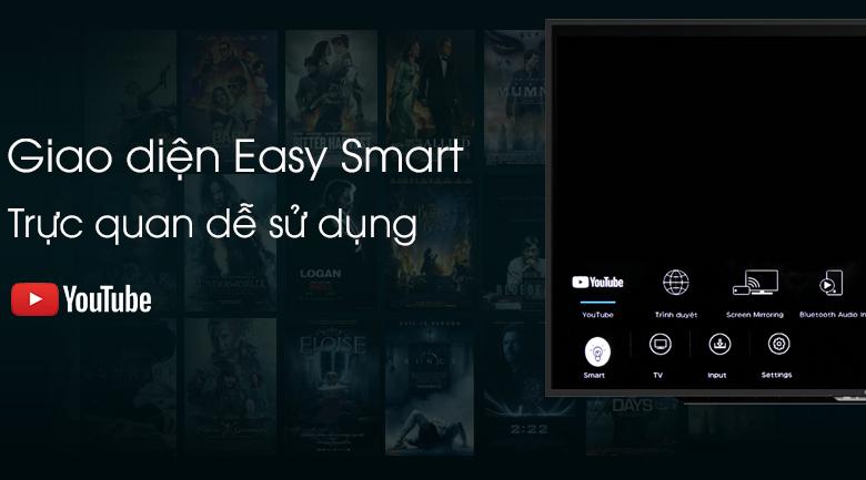 Easy Smart - Smart Tivi Sharp 50 inch 2T-C50AE1X