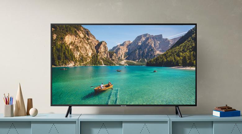 Smart tivi Samsung 4K 50 inch UA50RU7100 - Thiết kế