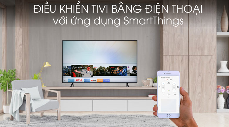 Smart tivi Samsung 4K 50 inch UA50RU7100 - SmartThings