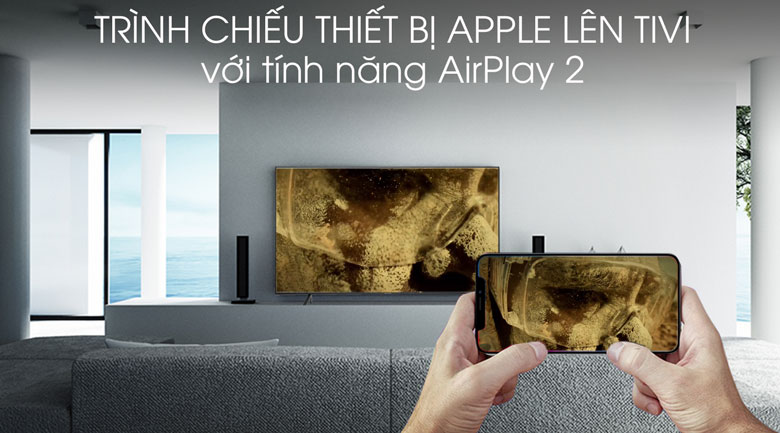 Smart tivi Samsung 4K 50 inch UA50RU7100 - AirPlay 2