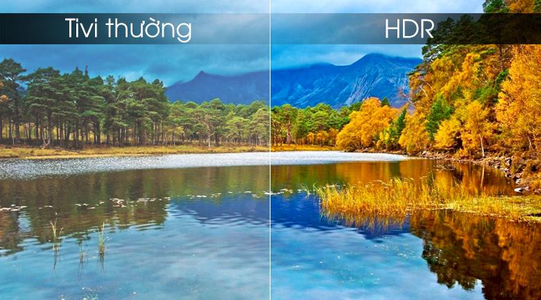 Smart tivi Samsung 4K 50 inch UA50RU7100 - HDR