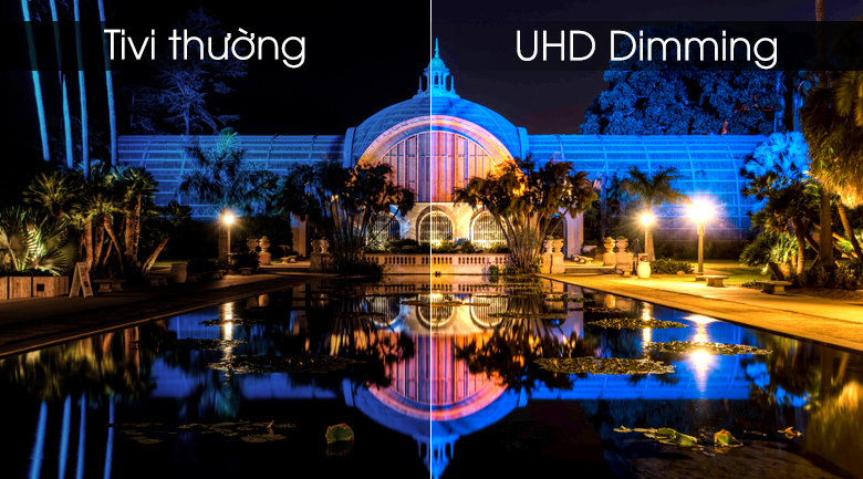 Smart tivi Samsung 4K 50 inch UA50RU7100 - UHD Dimming