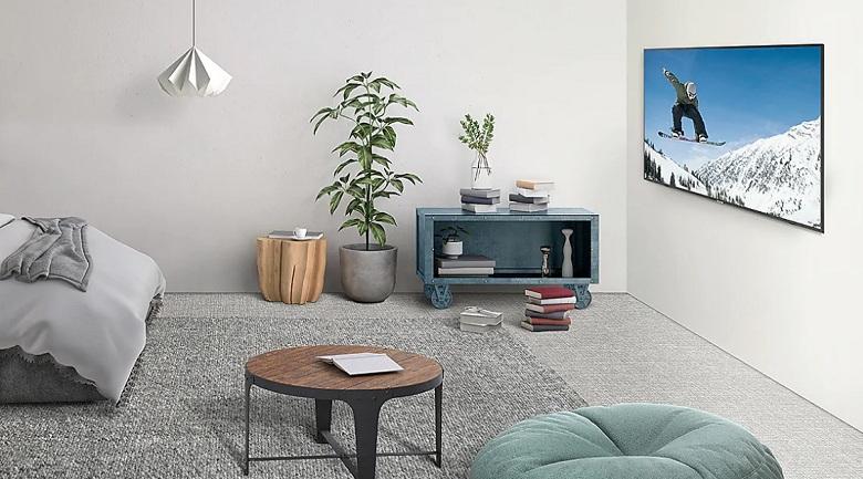 Smart Tivi Samsung 4K 55 inch UA55RU7100 - Thiết kế