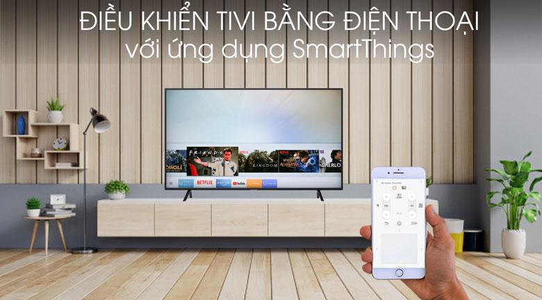 Smart Tivi Samsung 4K 55 inch UA55RU7100 - điều khiển tivi