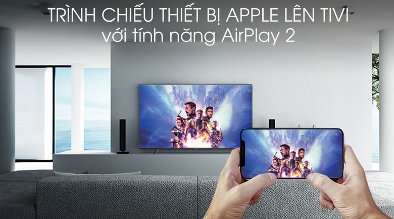 Smart Tivi Samsung 4K 55 inch UA55RU7100 - AirPlay 2