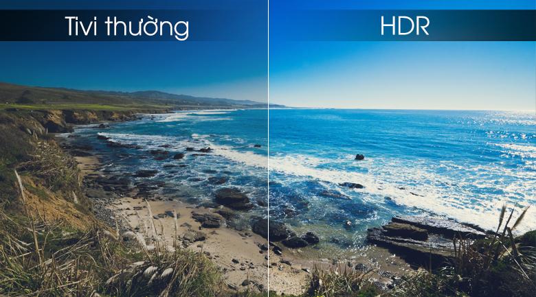 Smart Tivi Samsung 4K 55 inch UA55RU7100 - HDR