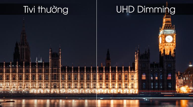 Smart Tivi Samsung 4K 55 inch UA55RU7100 - UHD Dimming