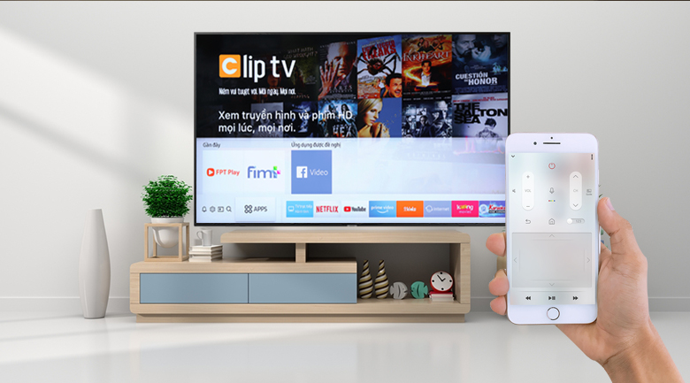 Smart Tivi Samsung 4K 65 inch UA65RU7100 - SmartThings